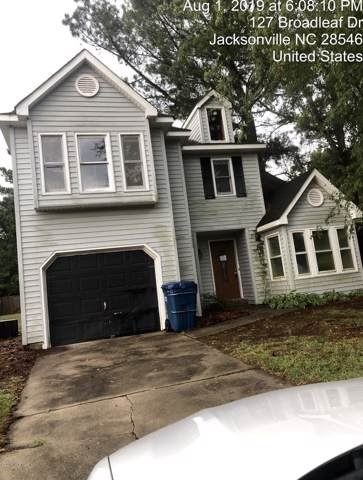127 Broadleaf Drive, Jacksonville, NC 28546 (MLS #100180751) :: RE/MAX Essential