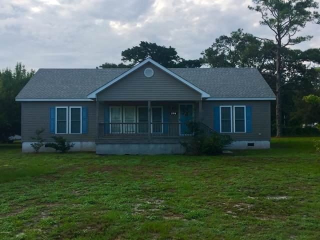 270 Shell Road, Atlantic, NC 28511 (MLS #100180830) :: Lynda Haraway Group Real Estate