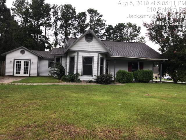 210 Balsam Road, Jacksonville, NC 28546 (MLS #100181271) :: Century 21 Sweyer & Associates
