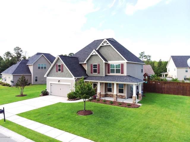 412 Cyrus Thompson Drive, Jacksonville, NC 28546 (MLS #100181429) :: Century 21 Sweyer & Associates