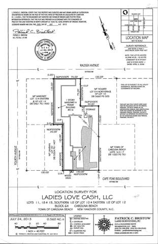 316 Cape Fear Boulevard, Carolina Beach, NC 28428 (MLS #100184710) :: CENTURY 21 Sweyer & Associates