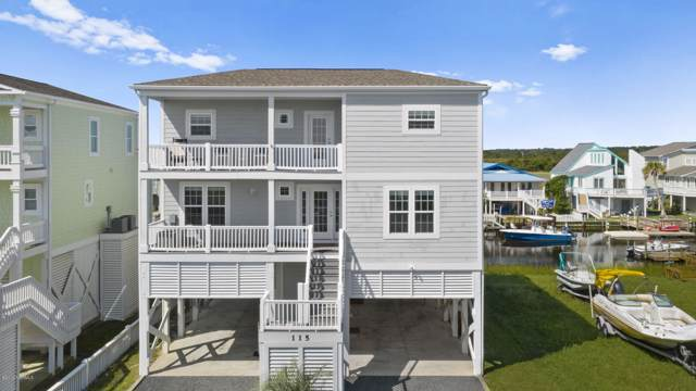 115 Starfish Drive, Holden Beach, NC 28462 (MLS #100184868) :: Castro Real Estate Team