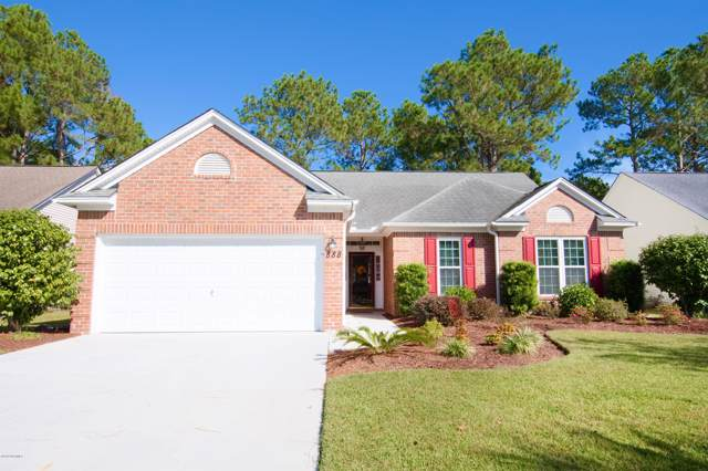 888 Sandpiper Bay Drive SW, Sunset Beach, NC 28468 (MLS #100192504) :: Courtney Carter Homes