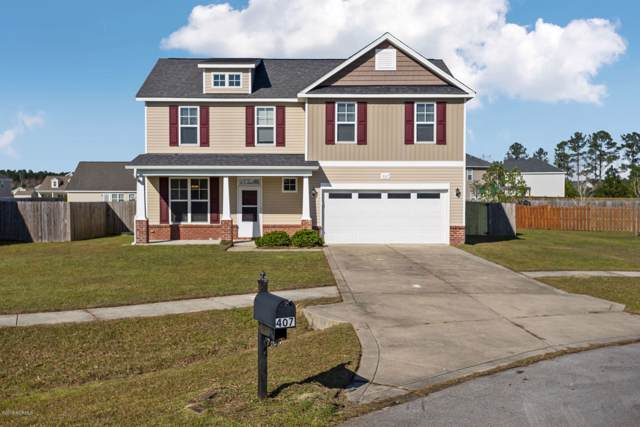 407 Zircon Court, Jacksonville, NC 28546 (MLS #100192548) :: RE/MAX Elite Realty Group