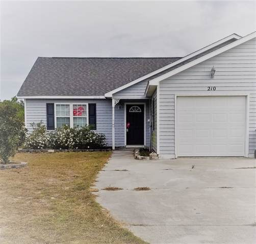 210 Faison Lane, Hubert, NC 28539 (MLS #100192753) :: Coldwell Banker Sea Coast Advantage