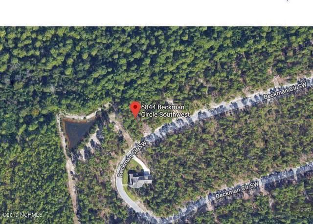 6844 Beckman Circle SW, Ocean Isle Beach, NC 28469 (MLS #100195876) :: The Bob Williams Team