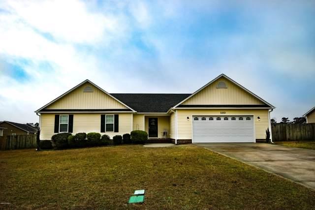 103 Blue Haven Drive, Hubert, NC 28539 (MLS #100199725) :: Coldwell Banker Sea Coast Advantage
