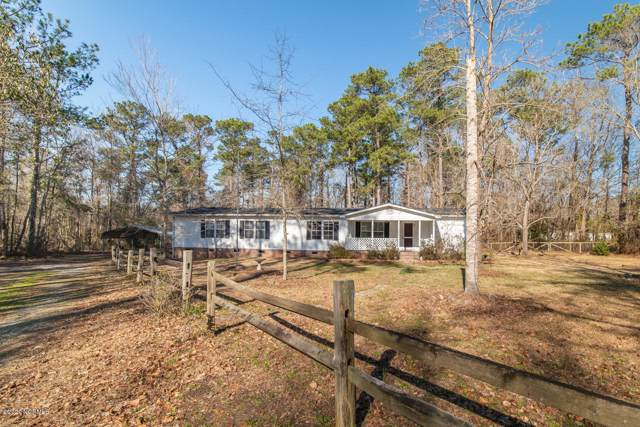 131 Bucks Branch Lane, Maysville, NC 28555 (MLS #100201608) :: Vance Young and Associates