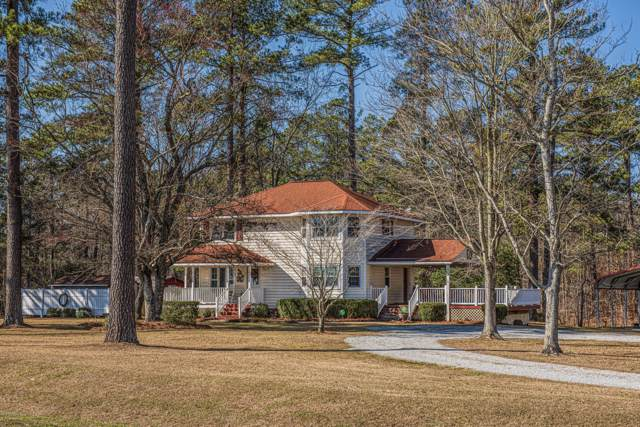 177 Island Creek Road, Pollocksville, NC 28573 (MLS #100201663) :: Vance Young and Associates