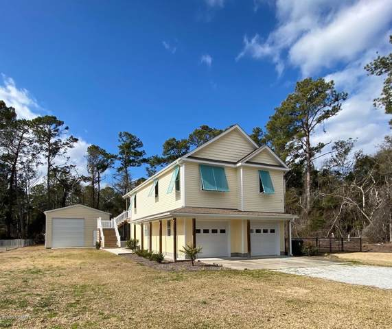 132 Bogue Sound Drive, Cape Carteret, NC 28584 (MLS #100201667) :: RE/MAX Essential