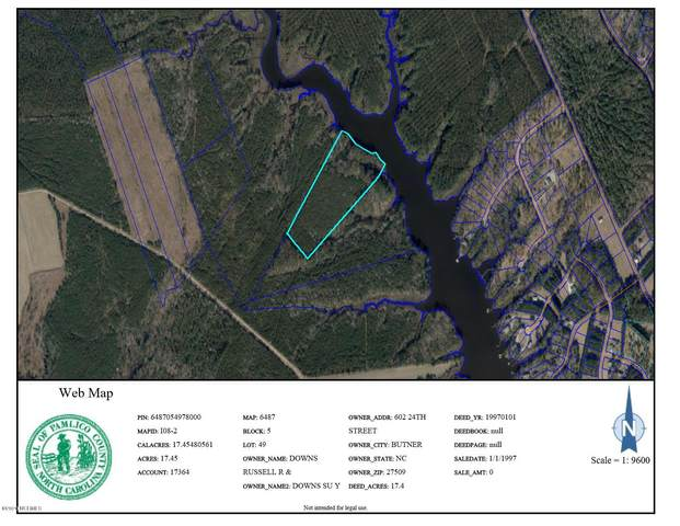 N/A Off Kershaw Road, Oriental, NC 28571 (MLS #100203807) :: Vance Young and Associates