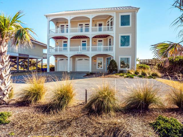 502 N Shore Drive, Surf City, NC 28445 (MLS #100204165) :: The Cheek Team