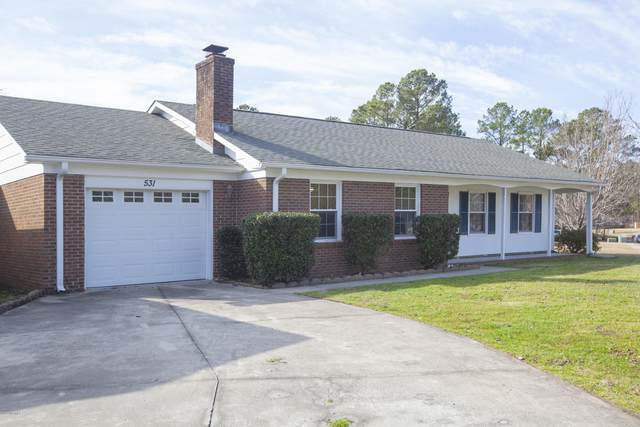 531 Wisteria Road, Jacksonville, NC 28546 (MLS #100206298) :: The Tingen Team- Berkshire Hathaway HomeServices Prime Properties