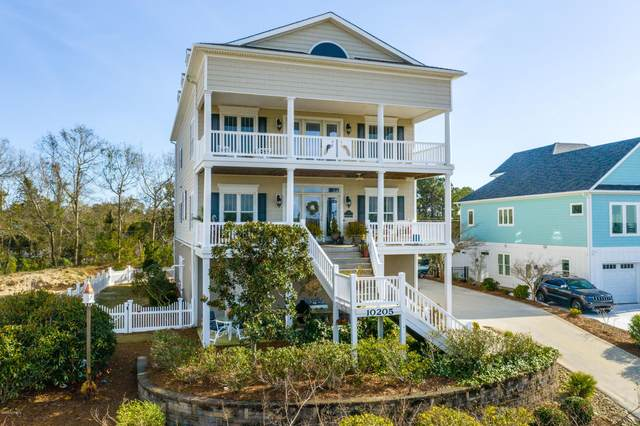 10205 Corree Cove Drive, Emerald Isle, NC 28594 (MLS #100211312) :: The Chris Luther Team