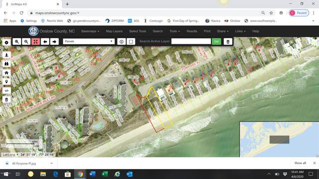 40 Porpoise Place, North Topsail Beach, NC 28460 (MLS #100212360) :: Berkshire Hathaway HomeServices Hometown, REALTORS®