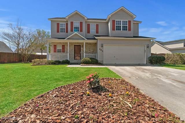 203 Edgefield Drive, Jacksonville, NC 28546 (MLS #100212704) :: Berkshire Hathaway HomeServices Hometown, REALTORS®