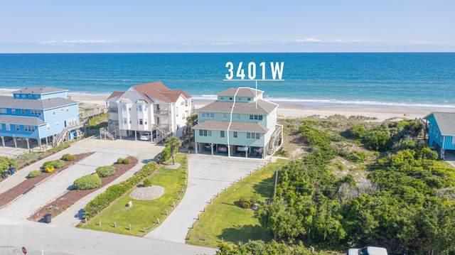3401 Ocean Drive W, Emerald Isle, NC 28594 (MLS #100218558) :: Barefoot-Chandler & Associates LLC
