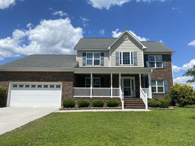 616 Stagecoach Drive, Jacksonville, NC 28546 (MLS #100220036) :: RE/MAX Elite Realty Group