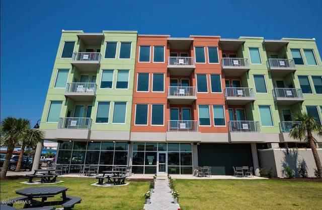 102 Cape Fear Boulevard #202, Carolina Beach, NC 28428 (MLS #100226927) :: David Cummings Real Estate Team