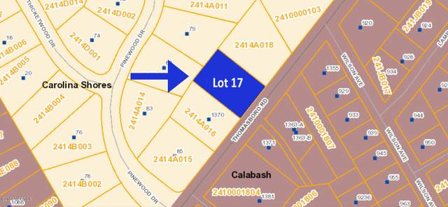 1360 Thomasboro Road SW, Carolina Shores, NC 28467 (MLS #100228744) :: Carolina Elite Properties LHR