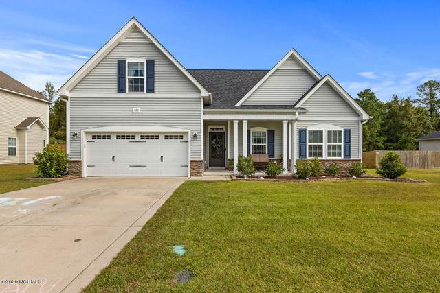 124 Mittams Point Drive, Jacksonville, NC 28546 (MLS #100238434) :: Berkshire Hathaway HomeServices Prime Properties