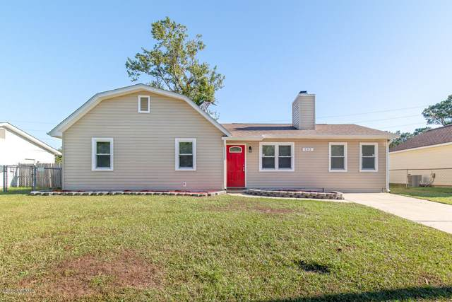 202 Hearthstone Drive, Jacksonville, NC 28540 (MLS #100241707) :: The Rising Tide Team