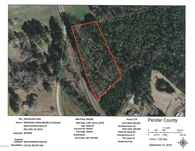 17.68 Ac Crooked Run Road, Willard, NC 28478 (MLS #100242089) :: Barefoot-Chandler & Associates LLC