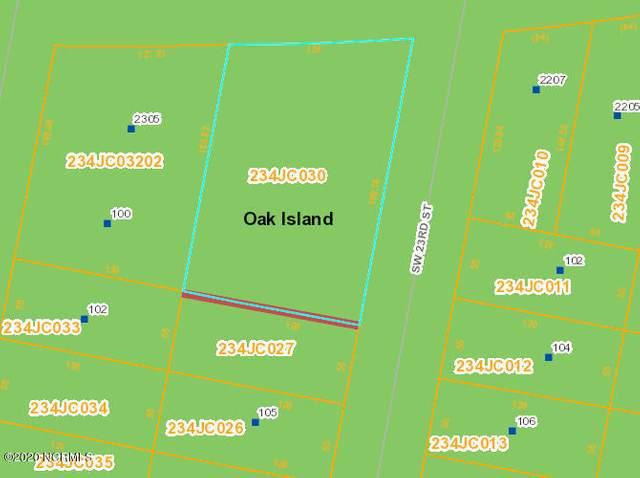 2301 W Oak Island Drive, Oak Island, NC 28465 (MLS #100242636) :: Welcome Home Realty