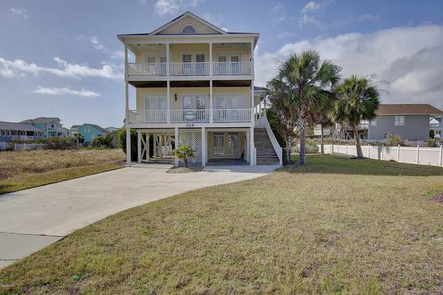 109 Golden Dune Way, Holden Beach, NC 28462 (MLS #100245180) :: Frost Real Estate Team