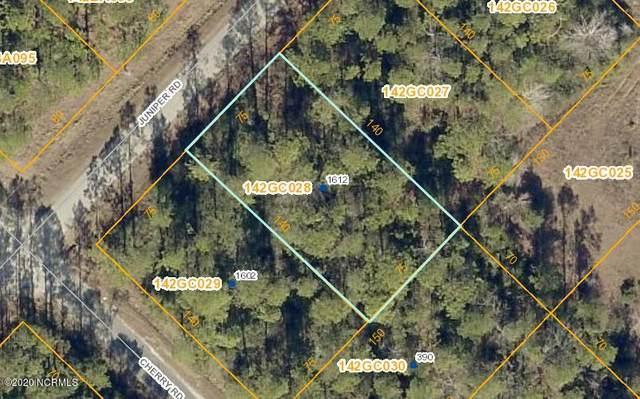 1612 Juniper Road, Boiling Spring Lakes, NC 28461 (MLS #100247246) :: Barefoot-Chandler & Associates LLC