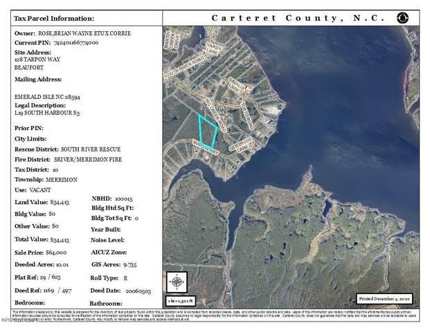 128 Tarpon Way, Beaufort, NC 28516 (MLS #100247871) :: David Cummings Real Estate Team