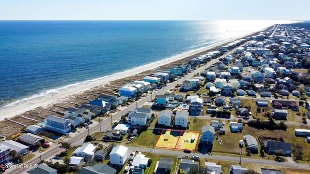 107 & 109 Hanby Avenue, Carolina Beach, NC 28428 (MLS #100253245) :: Thirty 4 North Properties Group