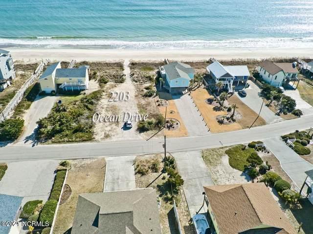 2203 Ocean Drive, Emerald Isle, NC 28594 (MLS #100257733) :: The Cheek Team