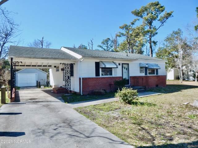 911 N Yaupon Terrace, Morehead City, NC 28557 (MLS #100260233) :: Vance Young and Associates