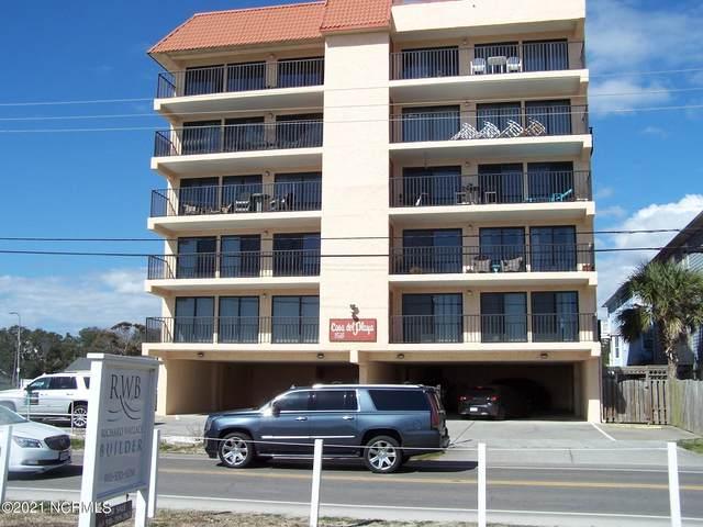 1518 S Lake Park Boulevard 2-E, Carolina Beach, NC 28428 (MLS #100261272) :: RE/MAX Essential