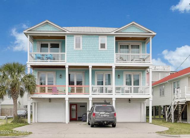 217 Fort Fisher Boulevard N A, Kure Beach, NC 28449 (MLS #100262676) :: Coldwell Banker Sea Coast Advantage
