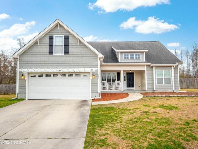 220 Blue Creek Farms Drive, Jacksonville, NC 28540 (MLS #100266371) :: Vance Young and Associates