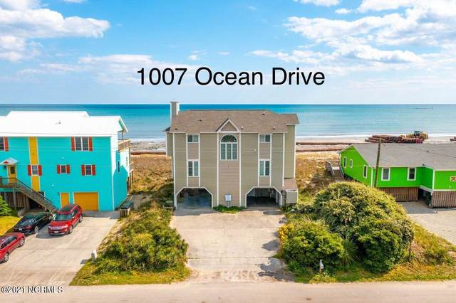 1007 Ocean Drive, Emerald Isle, NC 28594 (MLS #100266652) :: The Legacy Team