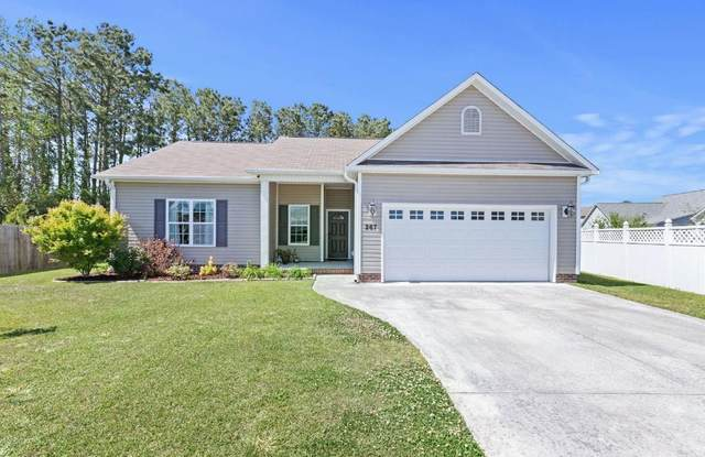 267 Channel Marker Loop, Swansboro, NC 28584 (MLS #100268085) :: Frost Real Estate Team