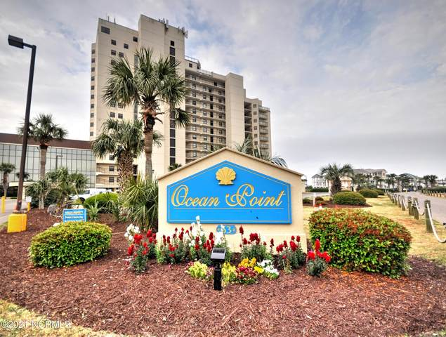 63 Ocean Isle West Boulevard #406, Ocean Isle Beach, NC 28469 (MLS #100269862) :: David Cummings Real Estate Team