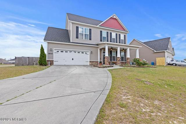 805 Tuscarora Trail, Jacksonville, NC 28546 (MLS #100270169) :: David Cummings Real Estate Team