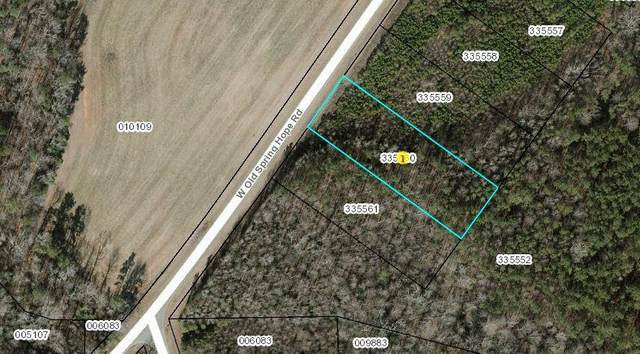 Lot 8 W Old Spring Hope Road, Spring Hope, NC 27882 (MLS #100270408) :: The Rising Tide Team
