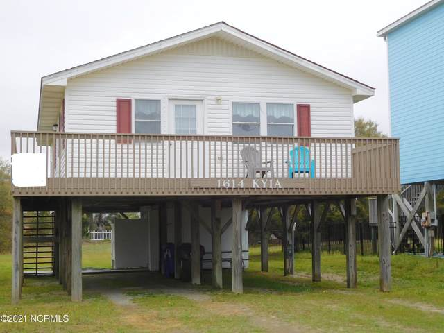 1614 E Dolphin Drive, Oak Island, NC 28465 (MLS #100270504) :: Carolina Elite Properties LHR