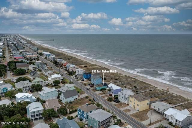833 S Fort Fisher Boulevard, Kure Beach, NC 28449 (MLS #100275178) :: CENTURY 21 Sweyer & Associates