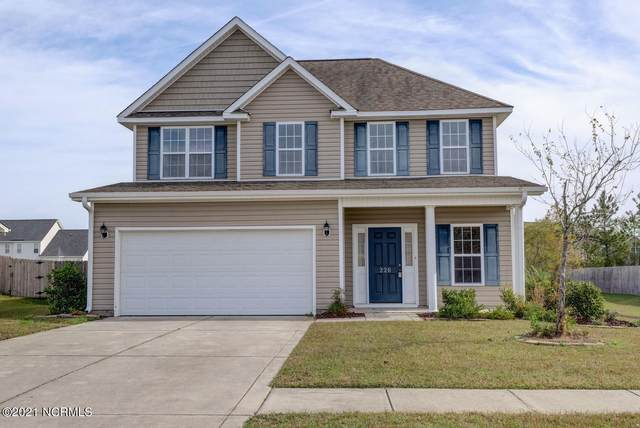 226 Silver Hills Drive, Jacksonville, NC 28546 (MLS #100278291) :: The Rising Tide Team