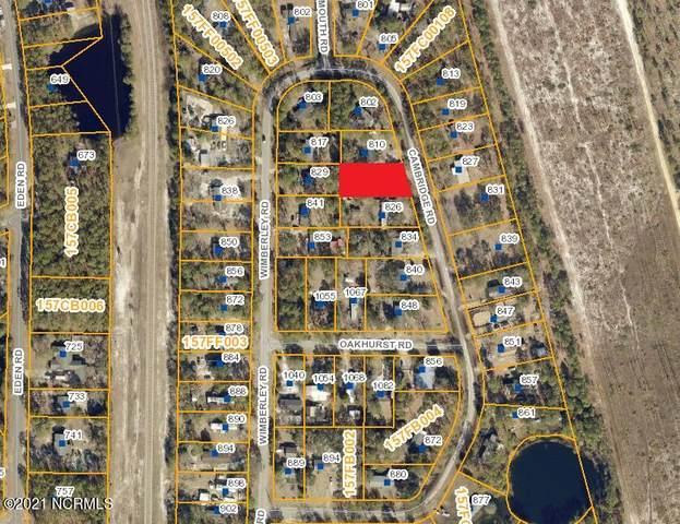 818 Cambridge Road, Southport, NC 28461 (MLS #100278709) :: CENTURY 21 Sweyer & Associates