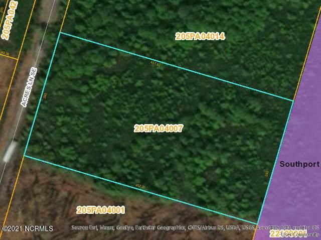 2.52 Acres Acres Lane SE, Southport, NC 28461 (MLS #100281969) :: Berkshire Hathaway HomeServices Prime Properties