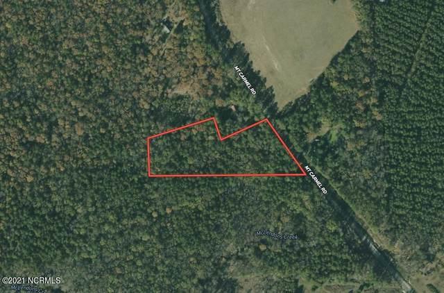0 Mt. Carmel Road, Carthage, NC 28327 (MLS #100282238) :: Carolina Elite Properties LHR