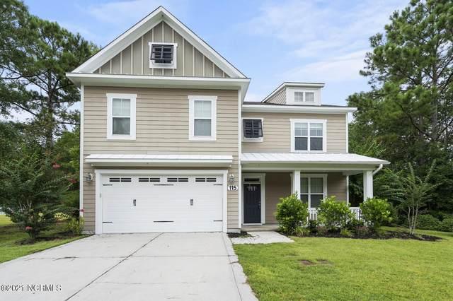 115 Saltwater Landing Drive, Hampstead, NC 28443 (MLS #100285457) :: Vance Young and Associates