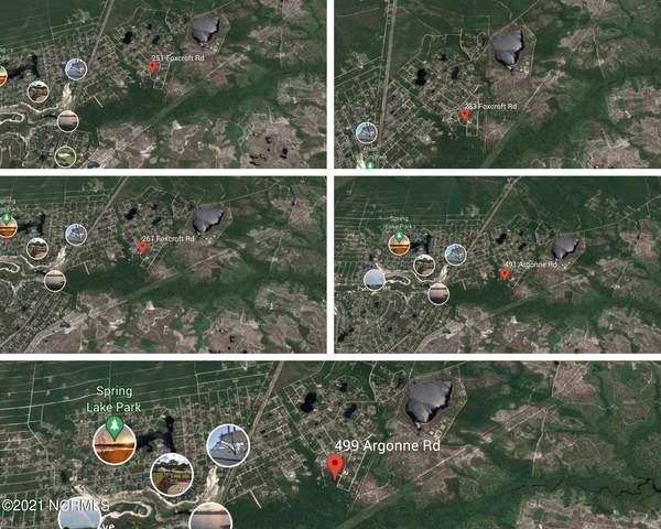 5 Lots Argonne/Foxcroft Road, Boiling Spring Lakes, NC 28461 (MLS #100288255) :: Coldwell Banker Sea Coast Advantage